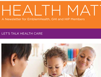 Emblem Health Newsletter